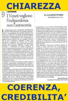 L'INDIPENDENZA DI SAN MARCO: I VENETI VOGLIONO INDIPENDENZA, NO AUTONOMIA! di M...