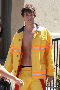 Matt Lanter in a fireman outfit...yum!