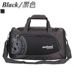 Nylon Outdoor Male Sport Bag Cylinder Bag Professional Men Women Fitness  Shoulder Gym Bag Hot Training 8fe7d91cc4