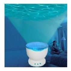 Ocean waves projector lamp projection    Transforming your environment into a relaxing tropical lagoon