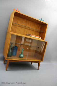 MID Century Display BAR Cabinet Vintage Retro Console Sideboard Danish Shelves in Narre Warren, VIC | eBay 360 MODERN FURNITURE