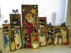 Barb's Heartstrokes: It's beginning to Look Allot Like.........Barn Wood!!