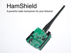 HamShield for Arduino (VHF/UHF transceiver) project video thumbnail