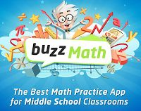 buzzMath is an excellent iPad app for Middle School Math that I found out about on Edshelf. This app has over 2800 problems based on all different areas of Math such as: Geometry, Algebra, Fractions, and more. Also, these problems have detailed solutions as well as aligned to Common Core Standards. Best of all, a teacher can download the app, create a class/school account and then distribute to their students via a classroom code.