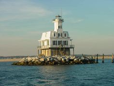 Long Beach Bar(Bug Light) Lighthouse - Orient