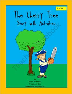 FREE The Cherry Tree Story with Fun Activities product from A_Teachers_Idea on TeachersNotebook.com