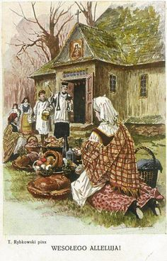 Co autorki miały na myśli? Easter In Poland, Polish Easter Traditions, Polish Folk Art, Arte Popular, My Heritage, Traditional, Cards, Vintage, Egg