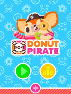 Sweet little donut game, a new take on endless catch & dodge game on iOS App Store! http://www.paul-shih.com/product/donut-pirate-launched-on-appstore/