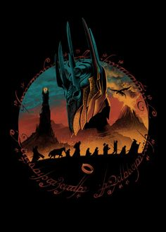 Middle Earth Quest - Created by Vincent Trinidad Jrr Tolkien, Lord Of The Rings Tattoo, Captain America Movie, Harry Potter, O Hobbit, Fellowship Of The Ring, Movie Poster Art, Gandalf, Middle Earth