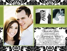 10 Beautiful Wedding Save The Date Ideas ~ A Little Bit of Everything