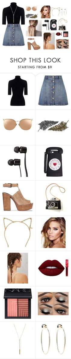 """""""Vintage chic"""" by iheartpalmtrees ❤ liked on Polyvore featuring Theory, Anita & Green, Linda Farrow, Paperself, Vans, Rebecca Minkoff, Tasha, Charlotte Tilbury, Lime Crime and NARS Cosmetics"""