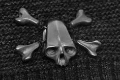 dlawless.com | SHOP #skull #crossbone #brooche #pin #handcarved #silver #oxidized Animal Skulls, Hand Carved, Cufflinks, Carving, Jewellery, Chain, Beads, Bracelets, Unique