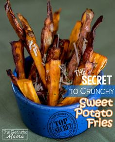 The Best Sweet Potato Fries - that even the kids will LOVE! #recipe