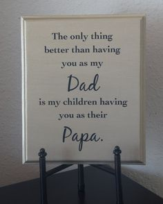 Dad Plaque  The only thing better than having by Frameyourstory, $24.95