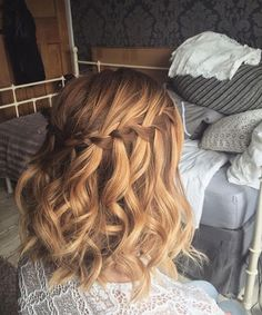 Most Beautiful Waterfall Curly Hairstyles 2017 – 2018 for Women
