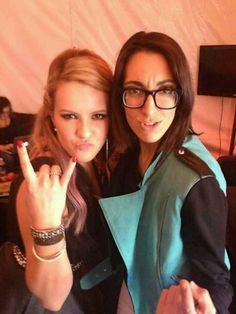 amber carrington and michelle chamuel