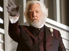 President Snow, The Hunger Games Hunger Games Movies, Hunger Games Trilogy, 2015 Color Trends, President Snow, Donald Sutherland, Literary Characters, Best Villains, Film Books, Pop Culture