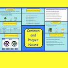 This is a Smartboard Interactive Whiteboard activity.  There are 8 pages in this file.  Students will learn the difference between Common Nouns and...