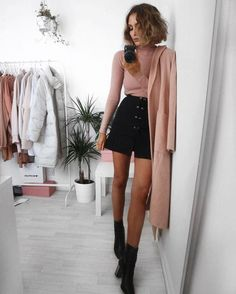 dusty pink fever, love this color