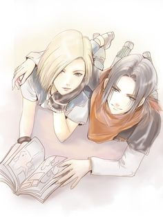 Android 17and 18 by DYKC.deviantart.com on @deviantART
