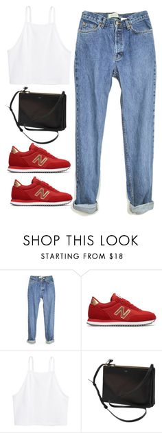 """""""Untitled #4253"""" by magsmccray ❤ liked on Polyvore featuring New Balance, H&M and CÉLINE"""