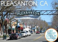 45. Pleasanton One thing you can't help but recognize about Pleasanton is the pride its citizens take in the community. You can bet the city lives up to it positively upbeat name. A suburb of the San Francisco Bay Area, those who relocate to Pleasanton will be welcomed into a community that boasts a low unemployment rate of just 3.9 percent and a pro-business government.