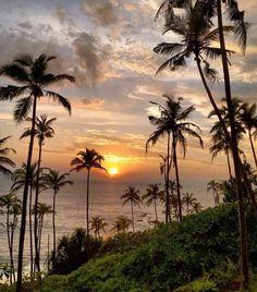 Another stunning Sri Lankan sunset! ( via @konstantin_mag) by theparadiseguide