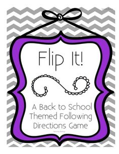 """How to Play: Player 1 (or the SLP) picks a direction card. They tell player 2 how to set up the board. For example, """"red apple up, then the . School Social Work, School Fun, Back To School, School Ideas, Listening And Following Directions, Following Directions Activities, Articulation Activities, Speech Therapy Activities, Speech Language Pathology"""