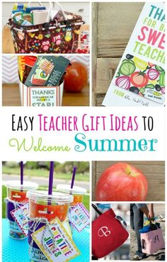 Being a teacher has to be one of the hardest jobs there is. So, why not show them a little appreciation with a gift that will get them excited for some much needed time off in the summer? Here are some quick and easy ideas that a teacher you know will love.