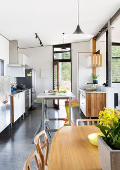 Binnenkijken in het buitenland: een huis vol hout in Perth, Australi� / www.woonblog.be