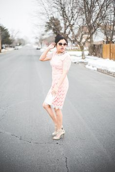 Valentine's Day outfit #dressy #janeyjessen #statementnecklace #jimmychoos #utah #outfit