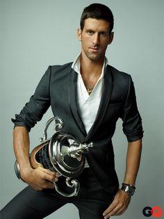 GQ's Ace of the Year: Novak Djokovic.