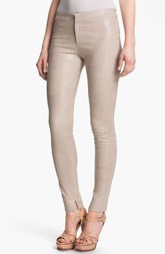 J Brand Ready-to-Wear 'Bette' Textured Leather Pants available at Nordstrom Must haves!