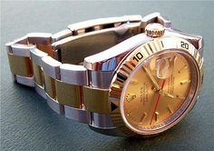 #rolex gold dial datejust diver    like .. repin .. comment :)    http://amzn.to/X1nbG9
