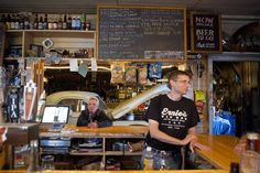 DRAFTY PLACE | Opened in 1923, Ernie's Tin Bar, in Petaluma, didn't serve craft beer...