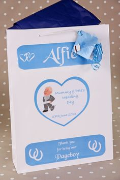 Pageboy Personalised Gift Bag