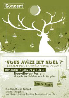 Concert de Noël NEUVILLE EN FERAIN (59)