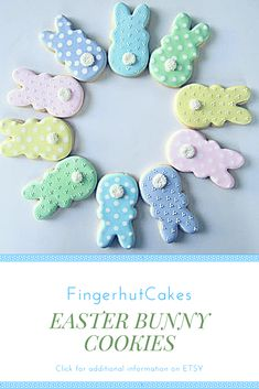 Easter Bunny Cookies Easter Basket Gift Ideas #affiliate
