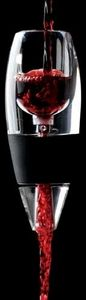 This Red Wine Vinturi Wine Aerator perfectly aerates your wine, so it's ready to serve just when you're ready to sip.