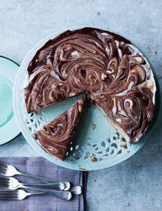 American chocolate fudge pie