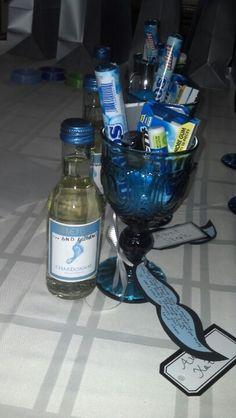 Baby boy shower hostess gift :)... girl: nail polish? what else?