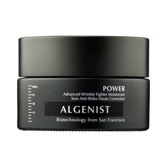 Algenist POWER Advanced Wrinkle Fighter Moisturizer - This algae-powered moisturizer harnesses the power of highly concentrated proteins found in microalgae cells to help reduce the appearance of deep wrinkles and increase skin's hydration. The formula visibly improves skin's firmness and elasticity and improves skin's overall texture, as well as visibly strengthening the appearance of skin. #antiaging #skincare