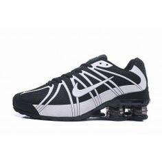 the best attitude ca5a2 7349d Hommes Chaussure Nike Shox Blanc Noir  NikeShox