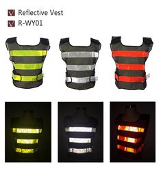 High Visibility Night Work Security Traffic or Cycling Safety Reflective Vest ** AliExpress Affiliate's Pin. Find similar products on AliExpress website by clicking the image Cycling Vest, Nativity Silhouette, Night Work, How To Find Out, Safety, Bike, Alibaba Group, Gadget, Work Wear