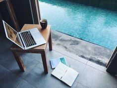 My new office :) Frii Bali Echo Beach