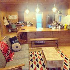 Masumiさんの、ジャーナルスタンダードファニチャー,ソファ,アンティーク,BESSの家,ACME FURNITURE,無印良品,journal standard Furniture,部屋全体,のお部屋写真