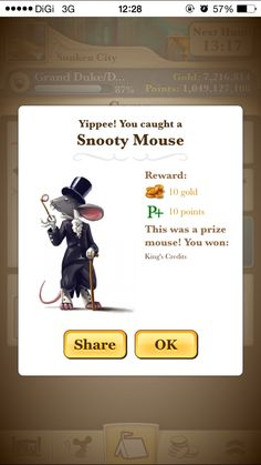 Here Comes Snooty Mouse.