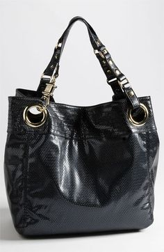 Steven by Steve Madden 'Candy Coated' Snake Embossed Tote available at #Nordstrom
