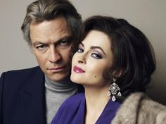 "Dominic West is Richard Burton and Helena Bonham Carter is Elizabeth Taylor in ""Burton and Taylor"""