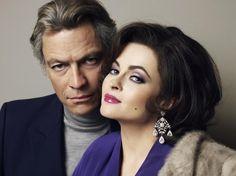"Dominic West is Richard Burton and Helena Bonham Carter is Elizabeth Taylor in ""Burton and Taylor"""
